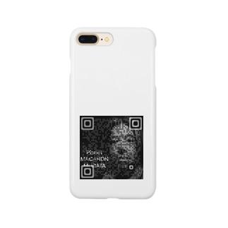 マカロン星人QRコード Smartphone cases