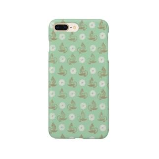 toridori-haru-green Smartphone cases