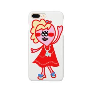 ハートガール★ Smartphone cases