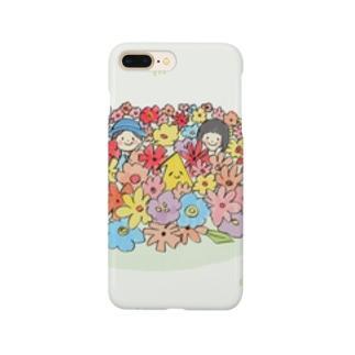 絵本1-1「ぼくとわたしとしぃとらぁ」 Smartphone cases