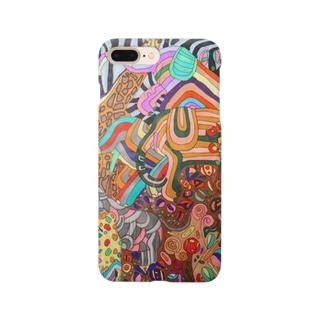 何匹いるかな!楽しいなかまたち! Smartphone cases