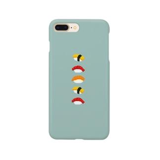 ドットおすし Smartphone cases
