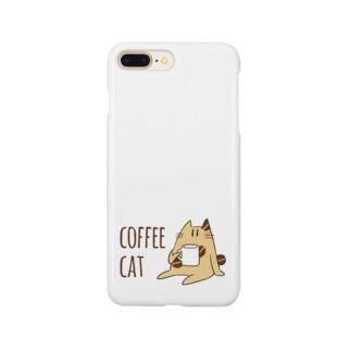 COFFEE CAT Smartphone cases