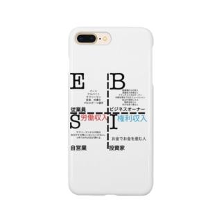 キャッシュフロークワドラント Smartphone cases