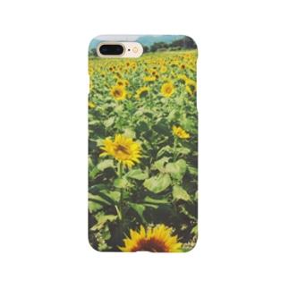 向日葵1 Smartphone cases