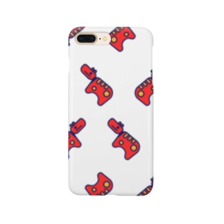 Akabeko Repeat 赤べこいっぱい Smartphone cases
