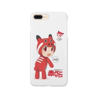 赤べこちゃん Smartphone cases