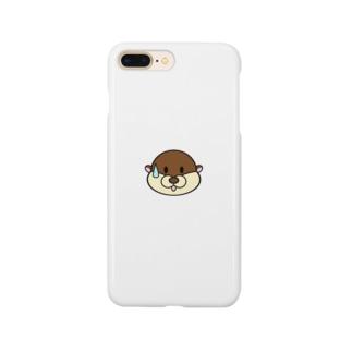 「困っているかわうそ」 Smartphone cases