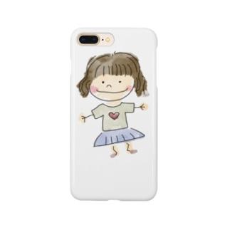 ショートカット少女 Smartphone Case