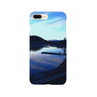 くまちゃんが撮影した風景マスク Smartphone cases