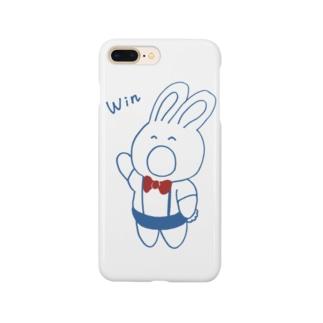 うさぎのレフェリー Smartphone cases