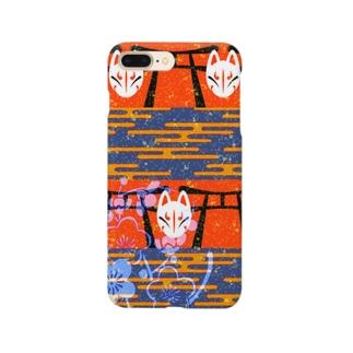 狐鳥居 Smartphone cases