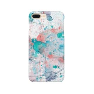 朝の水しぶき Smartphone cases