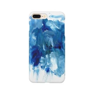 洞穴と滝 Smartphone cases