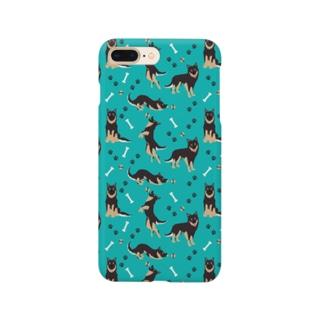 クロ青 Smartphone cases