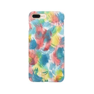 おはじきワンピース Smartphone cases