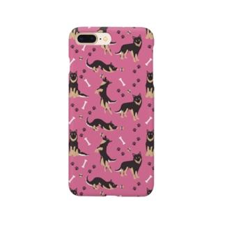 クロピンク Smartphone cases