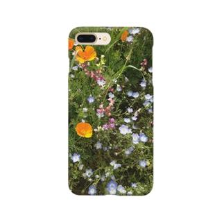 まどろこしい花畑 Smartphone cases