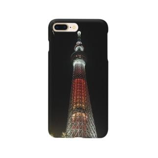 わざとらしい東京④ Smartphone cases