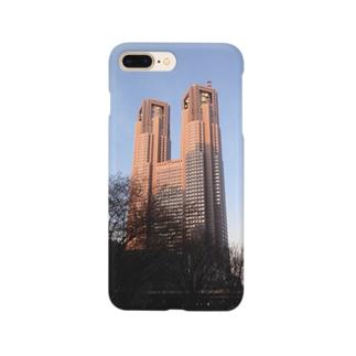 わざとらしい東京② Smartphone cases