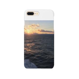 四国の夕日 Smartphone cases