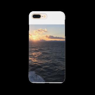 ベロンの四国の夕日 Smartphone cases