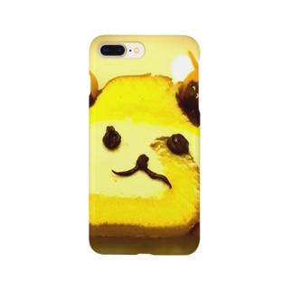 ロールケーキのくま Smartphone cases