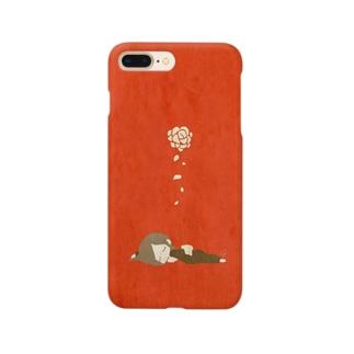 花が散る Smartphone cases