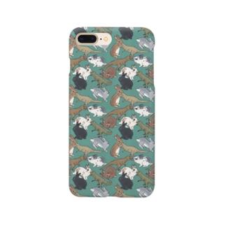 ミニレッキスとTレックス Smartphone cases