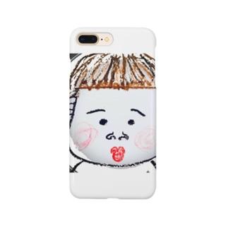かわいい坊ちゃん Smartphone cases