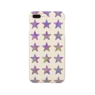 ゆがみグラデスター Smartphone cases