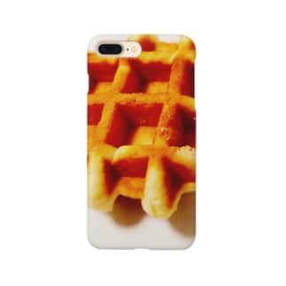 ワッフル Smartphone cases
