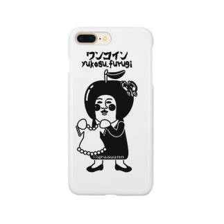 grasoann ✖️ワンコイン モノトーン Smartphone cases