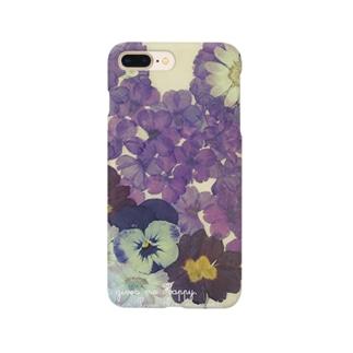 小さなお花 Smartphone cases