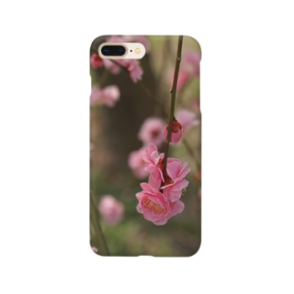 pink 枝垂れ梅1 Smartphone cases
