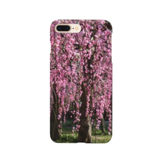 pink 枝垂れ梅 Smartphone cases