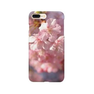 pink 河津桜 Smartphone cases