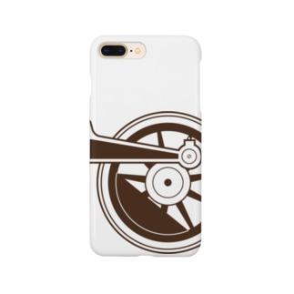アプト式機関車動輪(1軸ビッグ) Smartphone cases