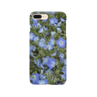 ネモフィラスマホケース Smartphone cases