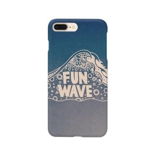 FUN WAVE スマートフォンケース