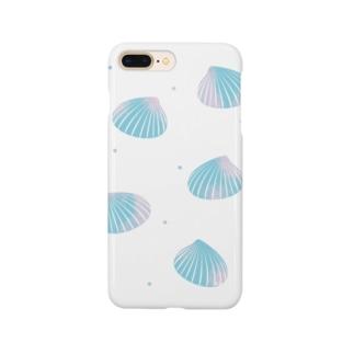 貝殻 スマートフォンケース