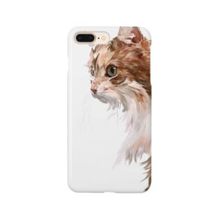 キャリ猫ちゃん Smartphone cases