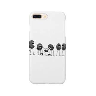 角オバケと弱き者 Smartphone cases