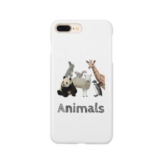 動物園が好きな人へ「アニマルズ」 Smartphone cases