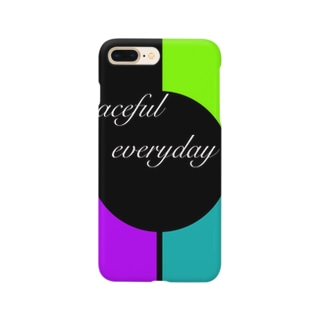 Peaceful everyday  Smartphone cases