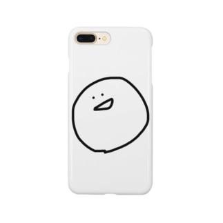 まるい顔2 Smartphone cases