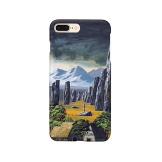 カラニッシュ・石の十字架 Smartphone cases