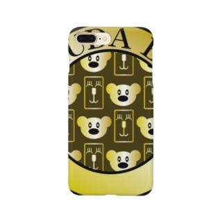 らくだべあスマートフォンケース Smartphone cases