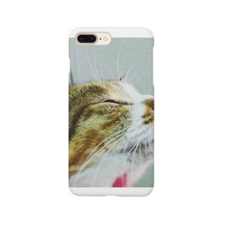 ごきげん猫 Smartphone cases