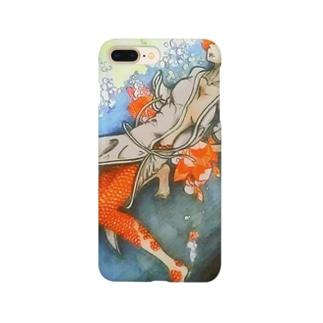 にんぎょ Smartphone cases